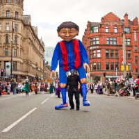 Manchester Day Parade produced by Walk the Plank; photo by Haydn Rydings