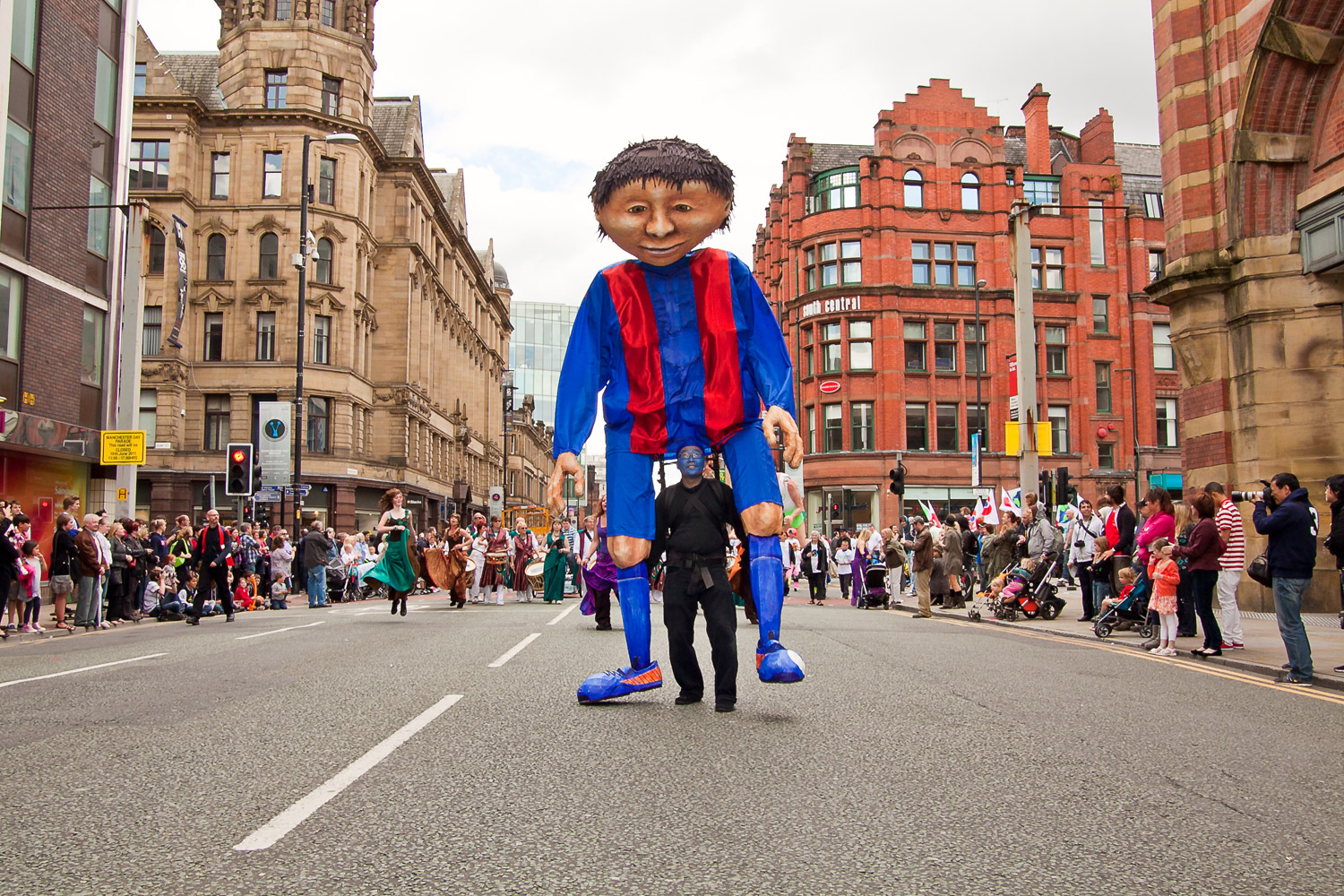 Manchester Day Parade, 2 June