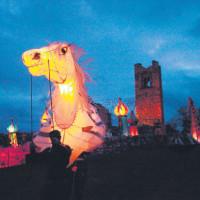Horse lantern at Slane