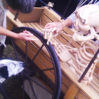 Panchan not so sure about  Les Contes d'Asphaldt's skeleton