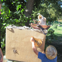 DIY puppet theatre with Wild Theatre from Austria