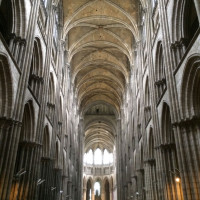 Inside Rouen Cathedral