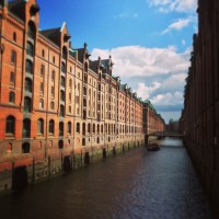 Lovely old shipping warehouses in Hamburg