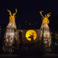 Ghost Caribou by Thingumajig Theatre; photo by Ian Hodgson